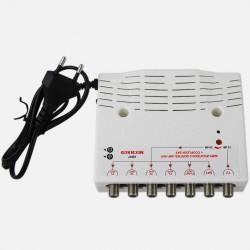 Amplificateur TV avec coupleur satellite Q237 Michaud