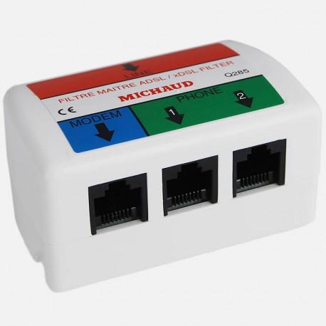 Filtre maître ADSL Q285 Michaud