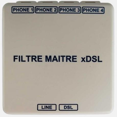 Filtre maître ADSL Q209 Michaud