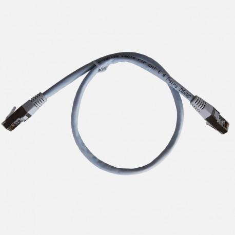Cordon de brassage Q289 RJ45-RJ45 FTP 0.5m Michaud