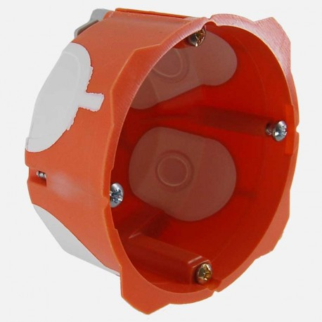 Boite placo simple poste capritherm D67 mm profondeur 40 mm Eaton