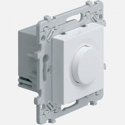 Essensya variateur rotatif blanc lampes eco WE060 Hager