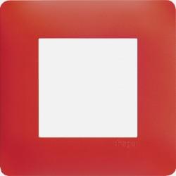 WE471 Essensya plaque Rouge émail 1 poste