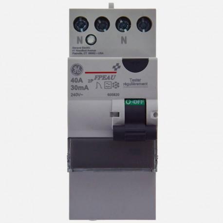 Interrupteur différentiel 40A type A