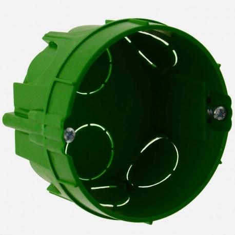 52103 boîte maçonnerie profondeur 40mm, Ø65 mm, Eur'ohm