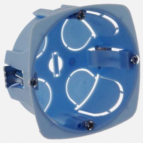 Boîte placo profondeur 30 mm D67 mm eur'ohm 52040