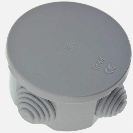 Boîte de dérivation étanche Ø60mm P40 mm IP44 SIB 650°