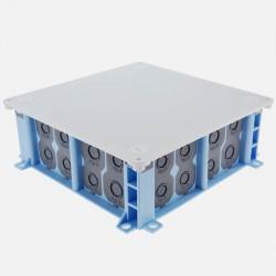 Boîte pavillonnaire 160x160 étanche gamme Air'métic Eur'ohm 51022
