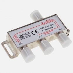 Répartiteur Télévision 3 directions 5 -2400 MHz