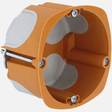 Boîte placo BBC D68mm P40 mm simple poste - SIB