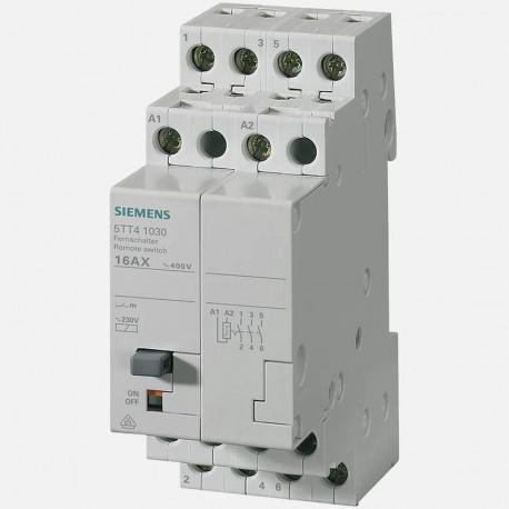 Télérupteur modulaire tripolaire 230 volts Siemens 5TT4103-0
