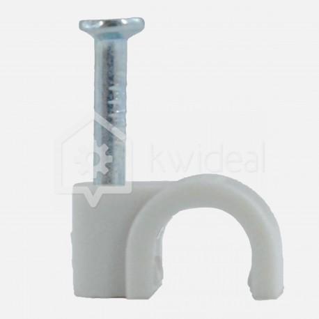 Pontet gris pour câble rond Ø5 mm Eur'ohm