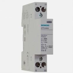Contacteur modulaire 20A 2 NF Siemens