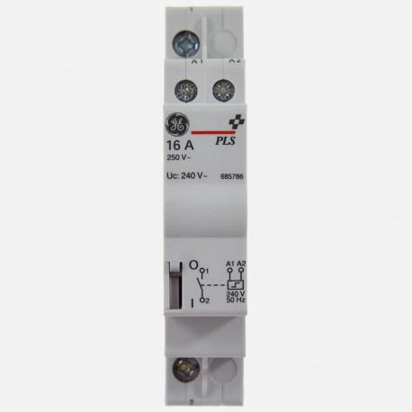 Télérupteur modulaire 230 volts 1 pôle General Electric