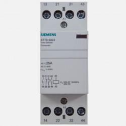 Contacteur modulaire 25A 2 NO 2 NC 24 volts Siemens 5TT50322