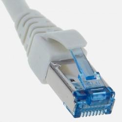 Cordon de brassage 30 cm C6a 10 Gbit/s Gigamédia