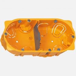 Boîte placo double D67mm P40 mm - Legrand