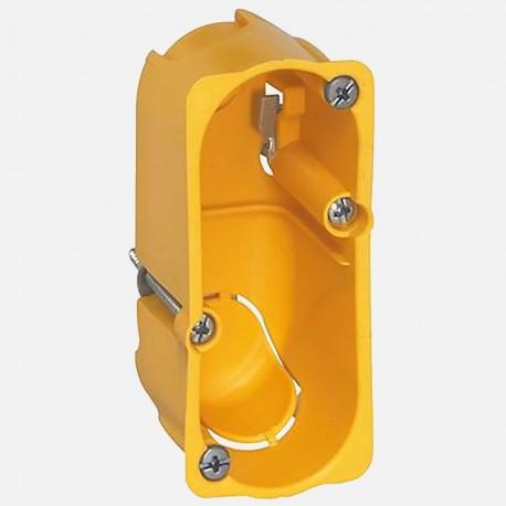 Boîte batibox cloison simple 1/2 poste P40 mm - Legrand