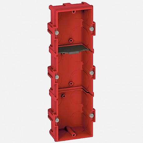 80143 Boîte maçonnerie 3 postes batibox