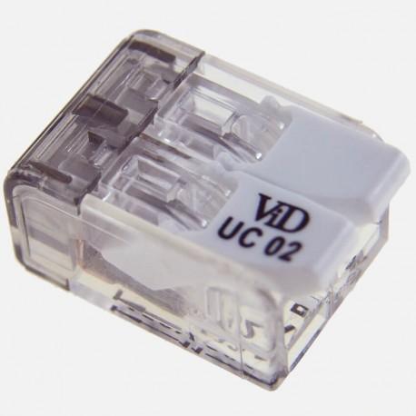 Connecteur à levier 2 fils de 0,5 à 4 mm² P07312 SIB