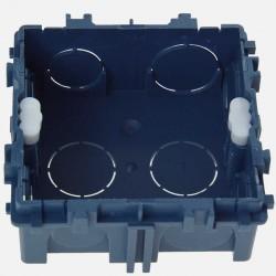 Boîte maçonnerie 1 poste XL tradi 75x75 P30 mm griffe/vis