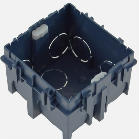 Boîte maçonnerie 1 poste 75x75 P50 mm 52111