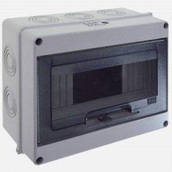 Coffret électrique étanche IP65 4-8 modules