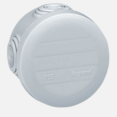 Boîte de dérivation étanche Legrand Ø60mm P40 mm IP55
