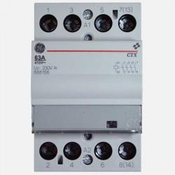 Contacteur modulaire 666156 63A tétrpolaire General Electric