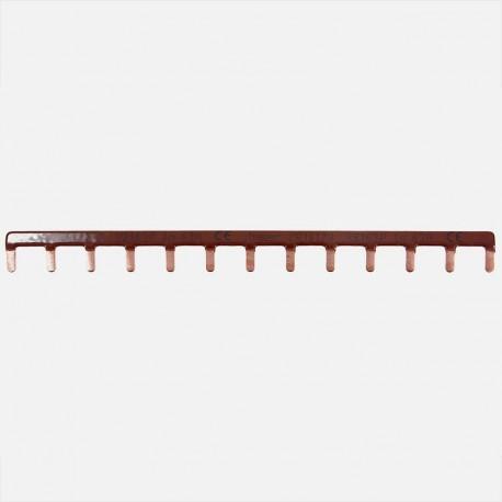 Barrette de pontage phase 13 modules Hager KB163P
