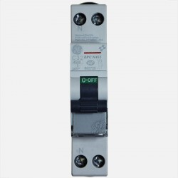 Disjoncteur phase neutre 32A General Electric connexion à vis