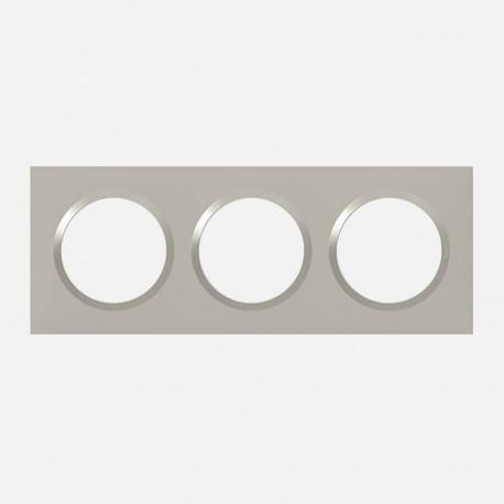 Dooxie Plaque Plume 3 postes 600823