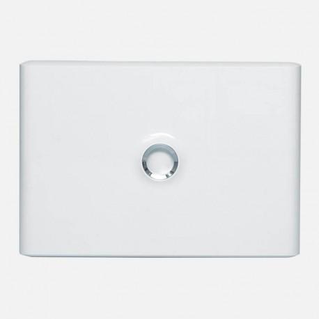 Porte opaque 1 rangée 18 modules 401231 Legrand