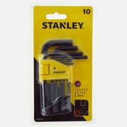Clés 6 pans Stanley 0-69-253