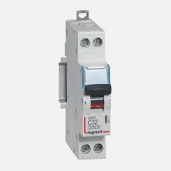 Disjoncteur phase neutre 32A à vis Legrand