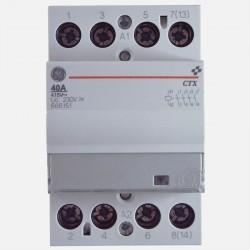 Contacteur modulaire 666151 40A tétrapolaire General Electric