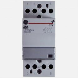 Contacteur modulaire 666137 24A tripolaire General Electric