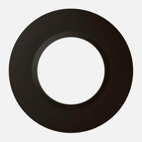 Plaque déco Dooxie finition noir velours 600976