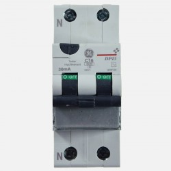 Disjoncteur différentiel 16A 30 ma GE 608120