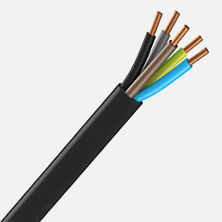 Fil rigide R2V 5G1.5 mm² au mètre