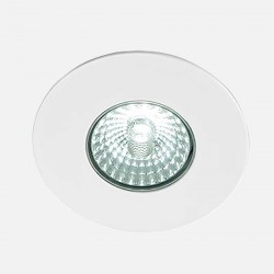 Spot encastré blanc LED'UP Design 6 W fixe 3000°K