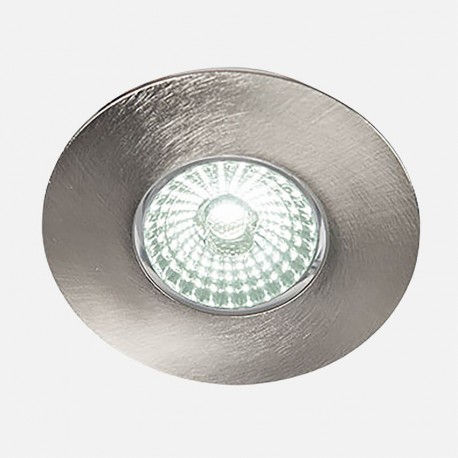 Spot encastré alu brossé LED'UP Design 6 W fixe 3000°K