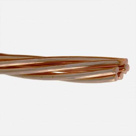 cuivre nu 25 mm² couronne au mètre