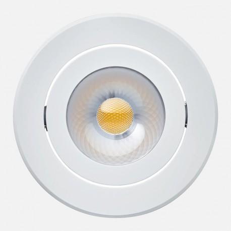Audacieuse Spot encastré LED orientable 8w blanc 3000°K Philips NS-39