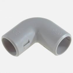 Equerre grise pour tube IRL diamètre 20 mm Eurohm