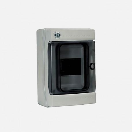 Coffret électrique étanche IP65 4 modules Iboco