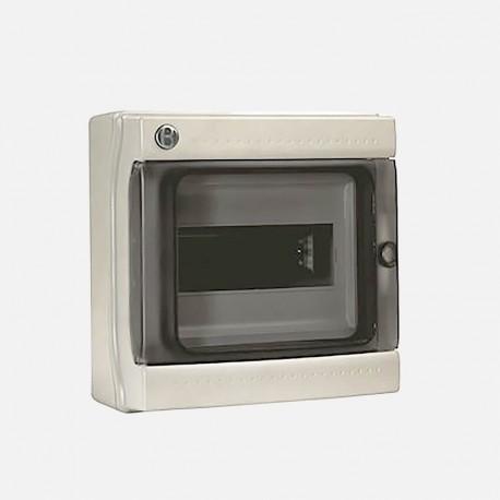 Coffret électrique étanche IP65 8 modules Iboco