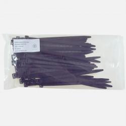 Collier polyamide noir Elématic 7,8x180 mm 50 pièces