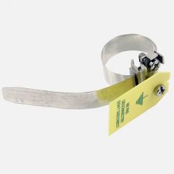 Collier de mise à la terre 2.5-6 mm² 120 mm 8-17.5 mm