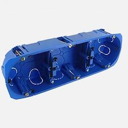 630719 Boîte cloison sèche 3 postes Ø67 mm P40 mm BLM
